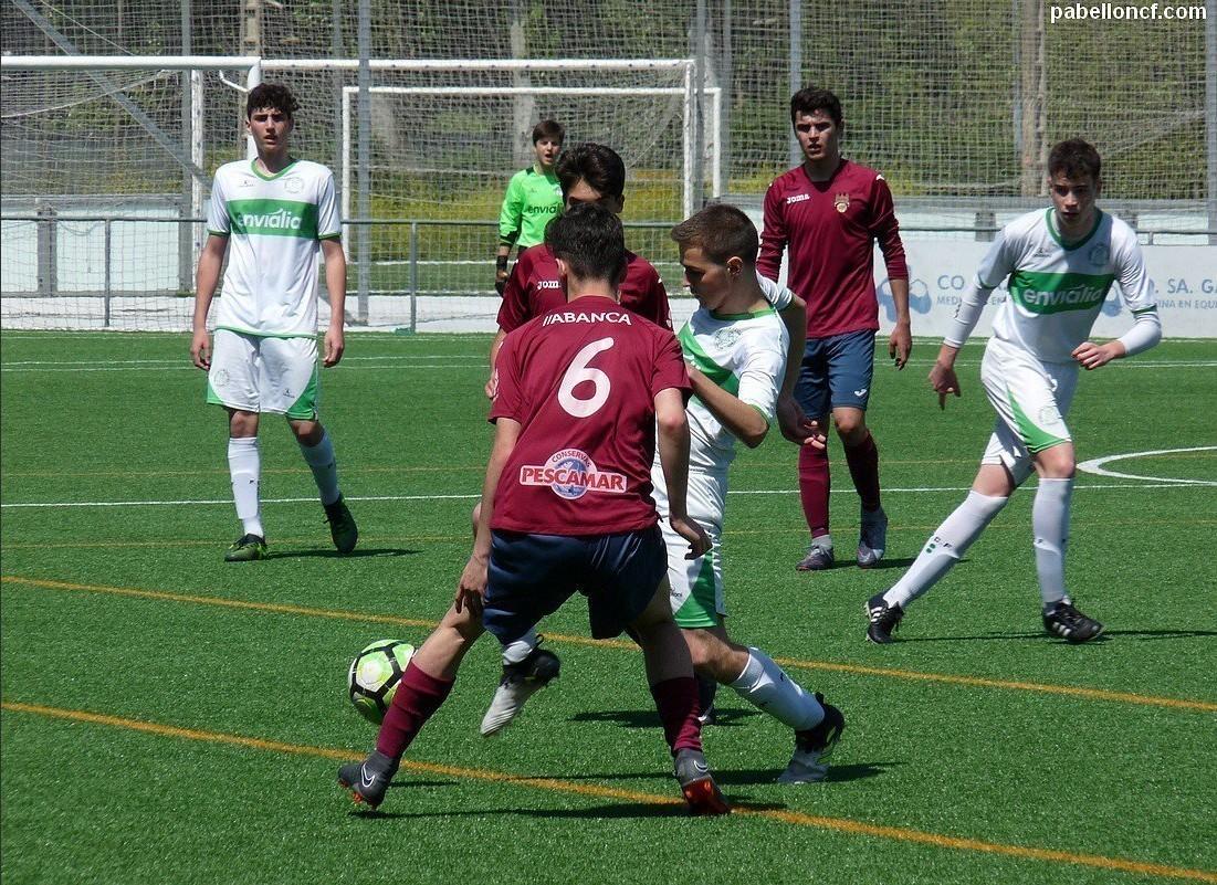 """Fútbol 11 / O Xuvenil """"C"""", protagonista da xornada"""