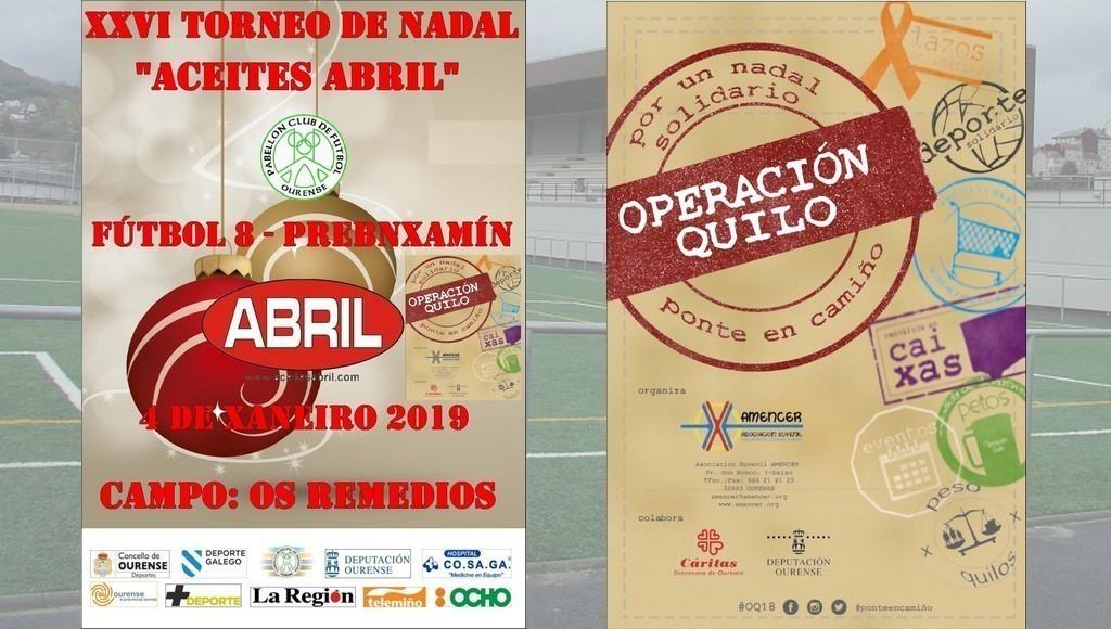 Fútbol 8 Prebenxamín / 26º Torneo Nadal Aceites Abril
