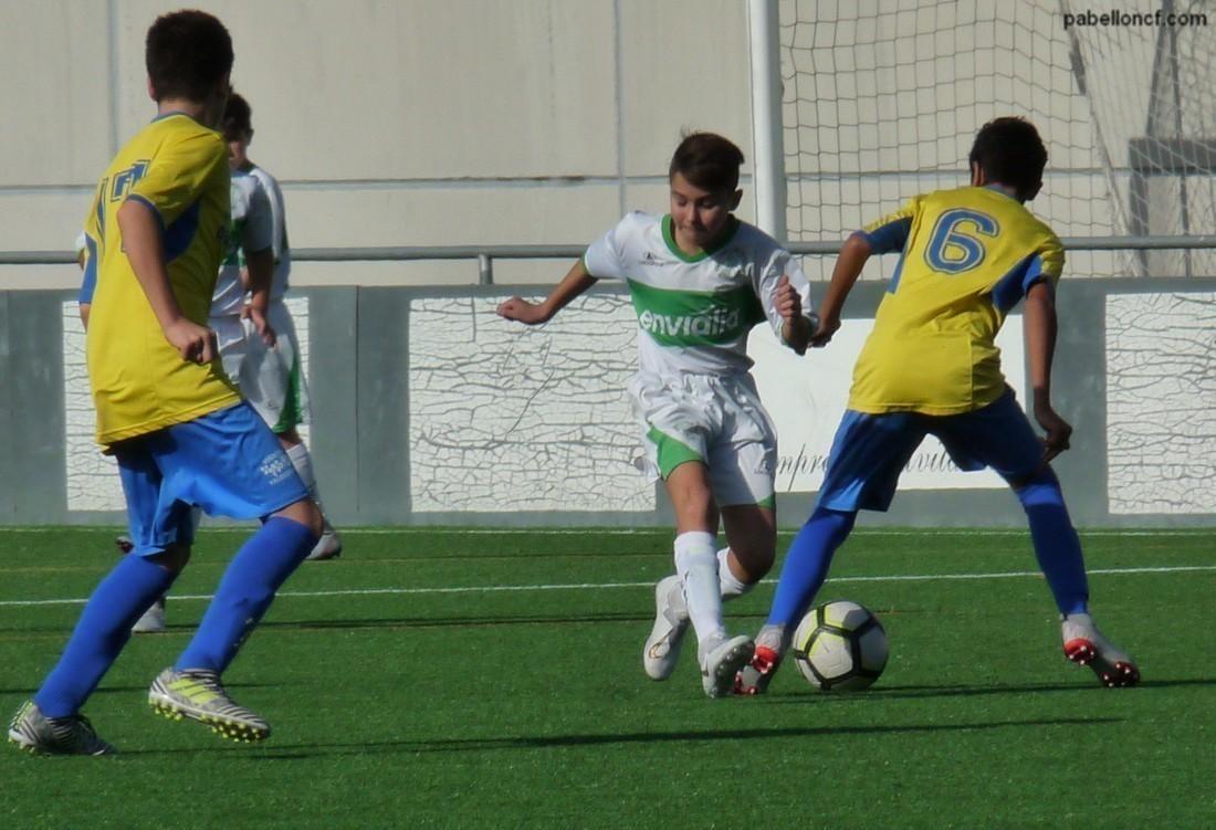 "Fútbol 11 / Protagonismo do Infantil ""B"""