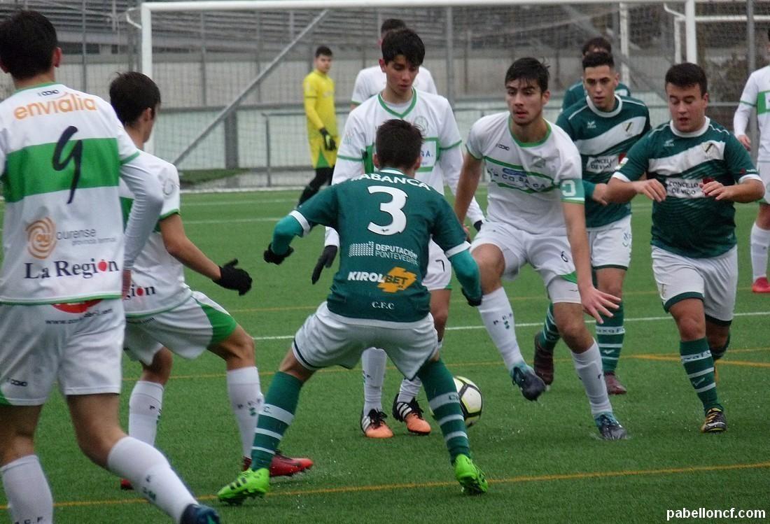 Fútbol 11 / Pleno dos equipos cadetes