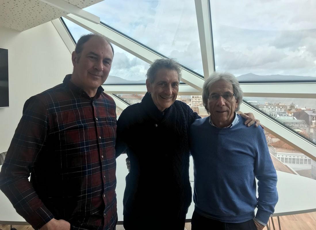 Convenio l Visita e reunión na nova sede do RC Celta