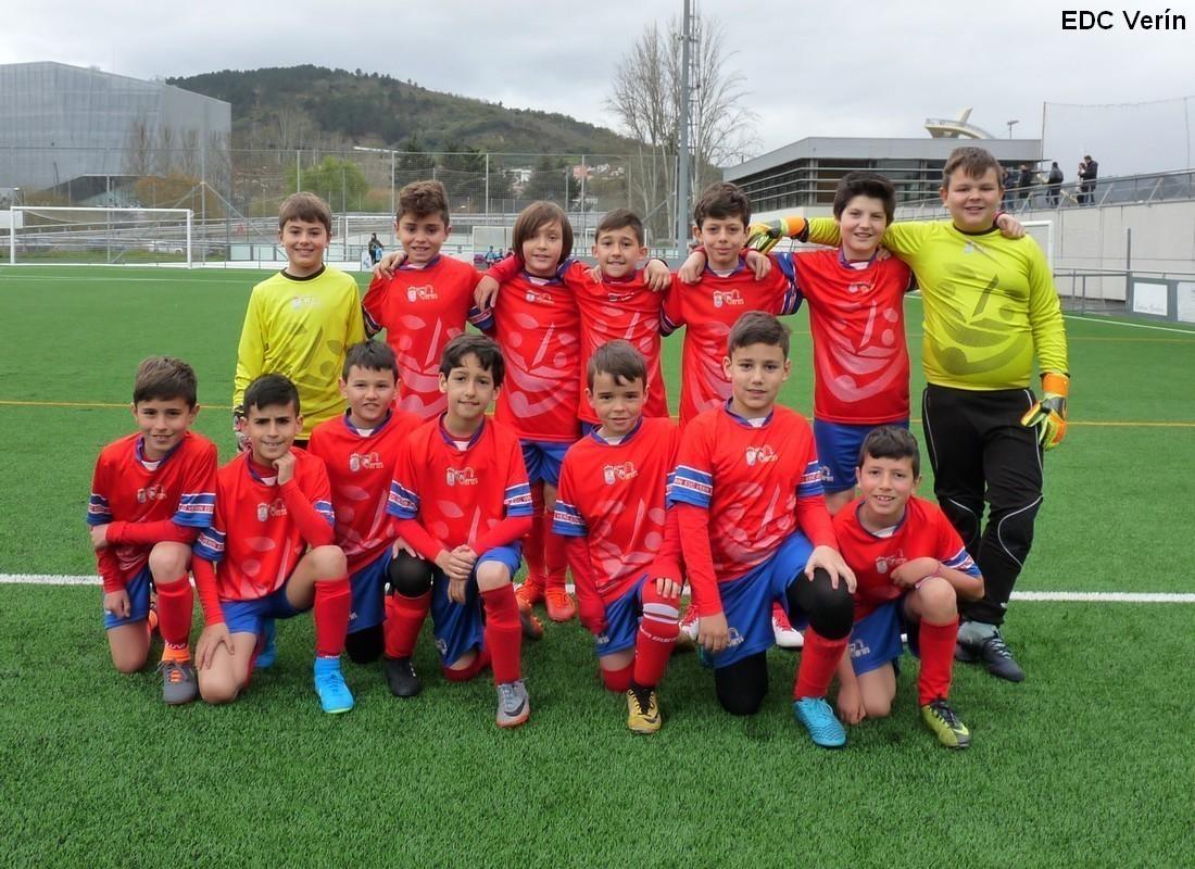 A EDC Verín gañou ao Pabellón nos penaltis a final do 11º Cidade das Burgas Benxamín